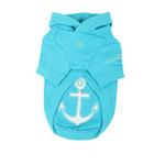 View Image 2 of Sunny Day Dog Hoodie by Pinkaholic - Aqua