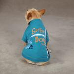 View Image 2 of Surf's Up Dog T-Shirt - Surfer Boy