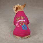 View Image 2 of Surf's Up Dog T-Shirt - Surfer Girl