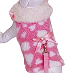 View Image 1 of Sweetheart Cuddle Jacket & Leash - Pink