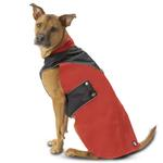 Tacoma Dog Coat - Red and Black