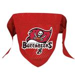 View Image 1 of Tampa Bay Buccaneers Mesh Dog Bandana