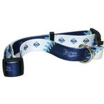 View Image 1 of Tampa Bay Rays Baseball Printed Dog Collar