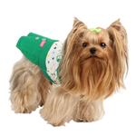 View Image 3 of Tease Dog Dress by Pinkaholic - Green