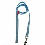 View Image 2 of Tenderfoot Dog Leash by Pinkaholic - Blue