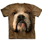 View Image 1 of The Mountain Human T-Shirt - Bulldog Face