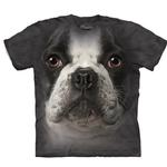 View Image 1 of The Mountain Human T-Shirt - French Bulldog Face