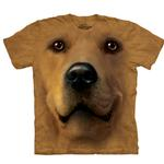 View Image 1 of The Mountain Human T-Shirt - Golden Face