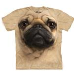 View Image 1 of The Mountain Human T-Shirt - Pug Face