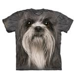 View Image 1 of The Mountain Human T-Shirt - Shih Tzu Face