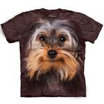 The Mountain Human T-Shirt - Yorkshire Terrier Face