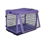 View Image 2 of The Other Door Steel Dog Crate Plus - Lavender