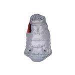 The Puffer Ski Dog Vest - Silver