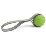View Image 1 of Toss N Tug Dog Toy by Doggles - Green Paws