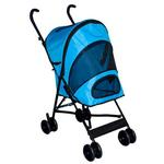 View Image 1 of Travel Lite Pet Stroller - Ocean Blue