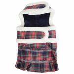 View Image 2 of Trinity Dog Harness Dress by Pinkaholic - Navy