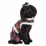 View Image 1 of Trinity Dog Harness Jumpsuit by Pinkaholic - Navy