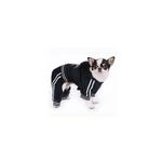 View Image 2 of Tristan Black Velour Dog Jumpsuit