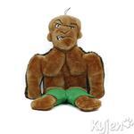 View Image 1 of Tuff Guy Lars Squeaker Mat Dog Toy