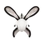 View Image 3 of Tuffy Dog Toys Barnyard Series - Radish the White Rabbit