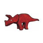 View Image 1 of Tuffy Dog Toys - Triceratops Dinosaur