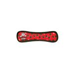 View Image 1 of Tuffy Dog Toys - Ultimate Bone Red Paw Print