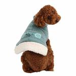 View Image 4 of Twilight Hooded Dog Cape by Pinkaholic - Aqua