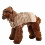 View Image 5 of Twilight Hooded Dog Cape by Pinkaholic - Beige