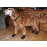 View Image 4 of Ultra Paws Durable Dog Boots - Black