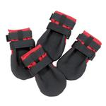 View Image 2 of Ultra Paws Durable Dog Boots - Red
