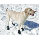 View Image 5 of Ultra Paws Snow & Go Dog Boots - Black