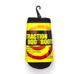 View Image 2 of Ultra Paws TrAction Dog Boots - Black
