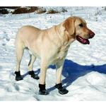 View Image 5 of Ultra Paws TrAction Dog Boots - Black