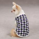 View Image 4 of Ultra Violet Houndstooth Sweater
