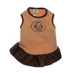 View Image 1 of Monkey Dog Dress with Scented Patch