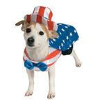 View Image 1 of Uncle Sam Dog Costume by Rubie's Costumes