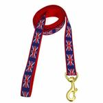 View Image 1 of Union Jack Dog Leash by Up Country