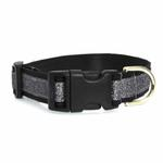 View Image 2 of Urban Chic Glitter Dog Collar - Black