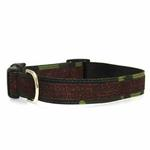 Urban Chic Glitter Dog Collar - Camo