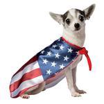 View Image 3 of USA Flag Cape Dog Costume by Rasta Imposta