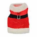 View Image 3 of Velvet Santa Boy Suit w/ Hat & Leash