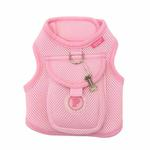 View Image 3 of Vera Pinka Dog Harness by Pinkaholic - Pink