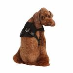 Vera Snugfit Dog Harness by Pinkaholic - Black