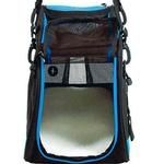 View Image 2 of Voyager Comfort Pet Carrier from Bergan - Blue with Black
