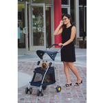 View Image 1 of Walk n Roll Pet Stroller - Navy