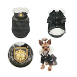 View Image 2 of Warm Snow Bunny Dog Coat by Puppia - Black