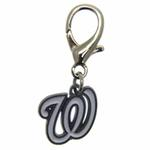 View Image 1 of Washington Nationals Logo Dog Collar Charm