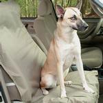 View Image 1 of Waterproof Bucket Pet Seat Cover - Beige