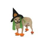 View Image 1 of Wicked Witch Dog Costume with Leg Cuffs