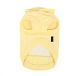 View Image 2 of Willy the Whale Hooded Dog Shirt by Puppia - Yellow